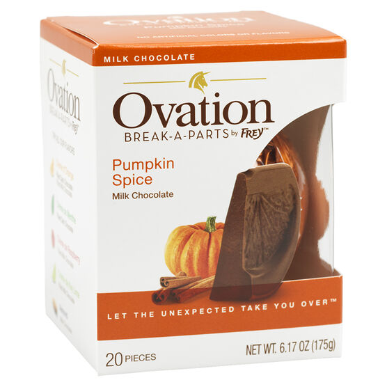Ovation Break-a-Part Milk Chocolate - Pumpkin Spice - 175g