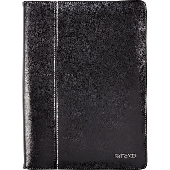 Maroo Kickstand Leather Folio for Microsoft Surface 3 -  Black - MR-MS3201