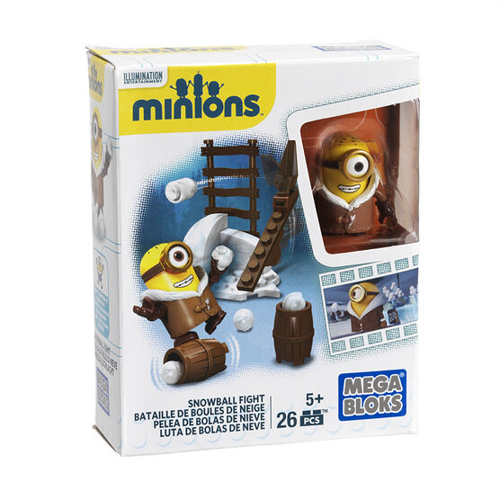 Mega Bloks Minions Movie Fun Pack - Assorted