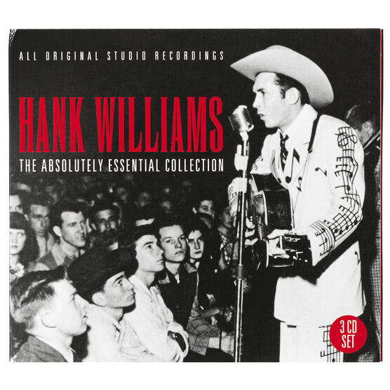 Hank Williams, Sr. - The Absolutely  Essential Collection - 3 CD