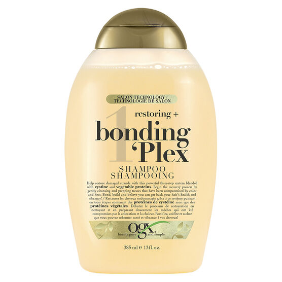 OGX Restoring + Bonding Plex 1 Shampoo - 385ml