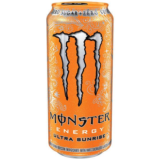 Monster Energy Drink - Ultra Sunrise - 473ml