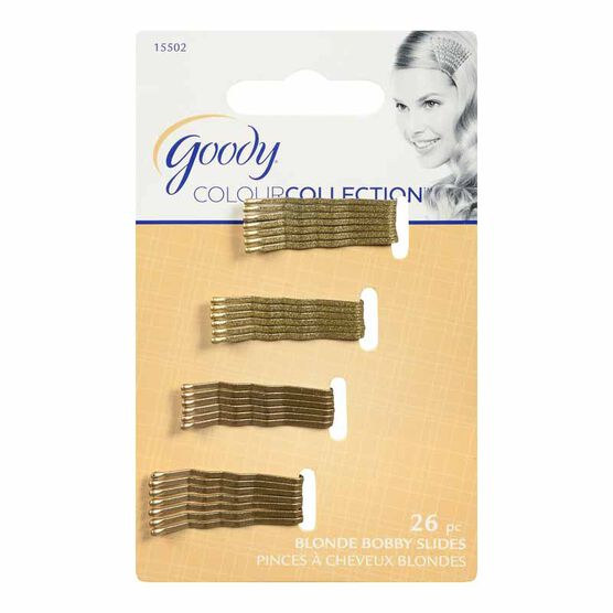 Goody Colour Collection Bobby Pins - Blonde Collection- 26 pack