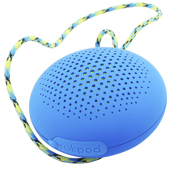 Boompods Rokpod Bluetooth Speaker - Blue - BPROKBLU