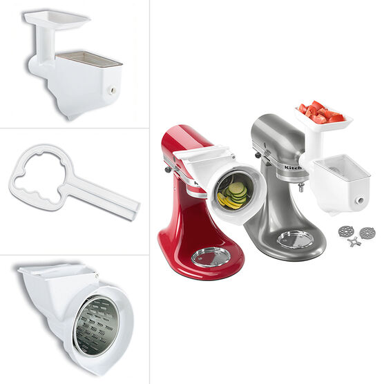 KitchenAid Mixer Attachment Pack - White - FPPA