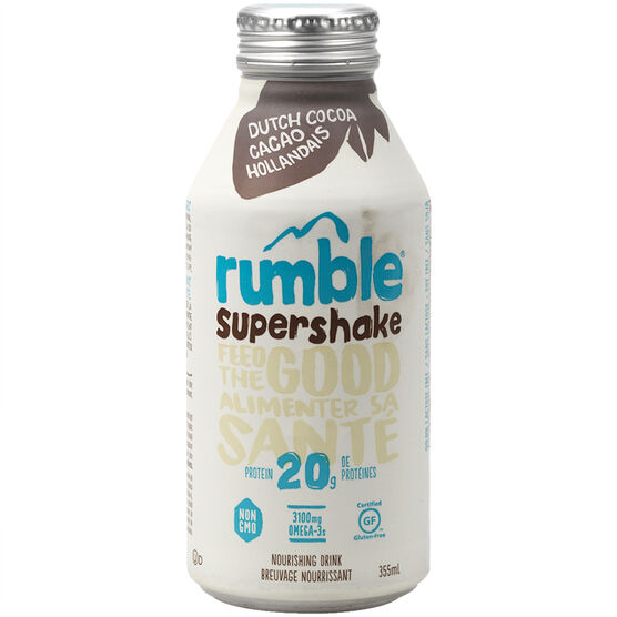 Rumble Super Shake - Dutch Chocolate Cocoa - 355ml