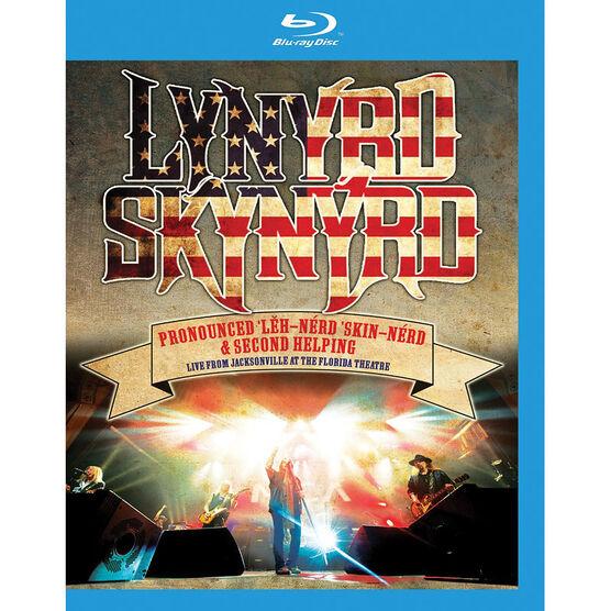 Lynyrd Skynyrd - Pronounced Leh-Nerd Skin-Nerd and Second Helping: Live from Jacksonville - Blu-ray