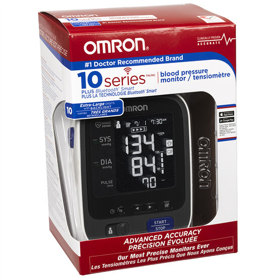 Omron Blood Pressure Monitor Series 10 - BP786CAN