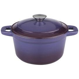Neo Cast Iron Round Covered Casserole - Purple - 7qt
