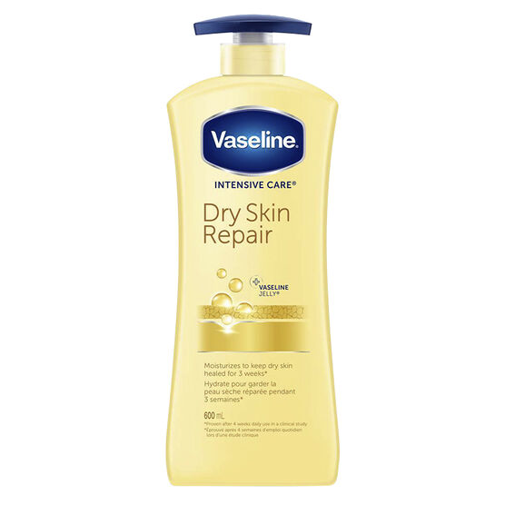 Vaseline Intensive Care Dry Skin Repair Lotion - 600ml