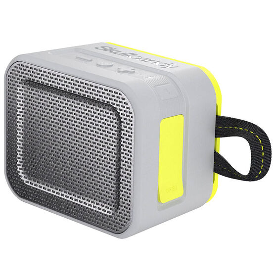 Skullcandy Barricade Bluetooth Speaker - Gray/Lime - S7PCWJ583