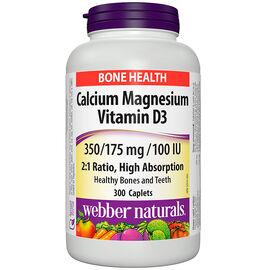 Webber Naturals Calcium Magnesium & Vitamin D3 - 300's