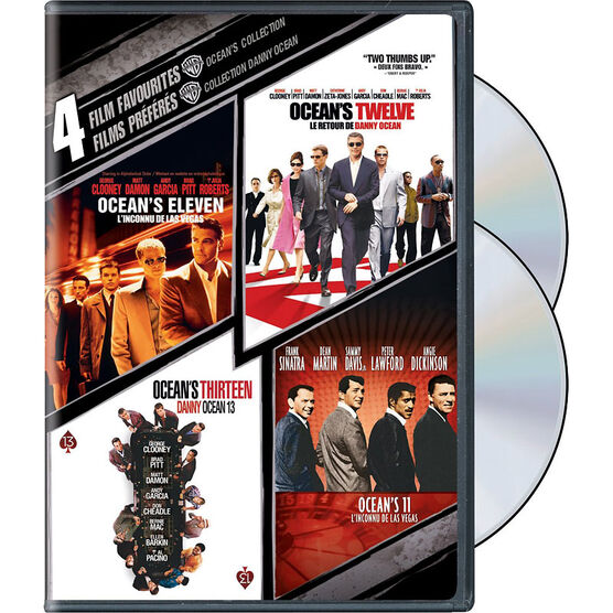 4 Film Favourites: Ocean's Collection - DVD