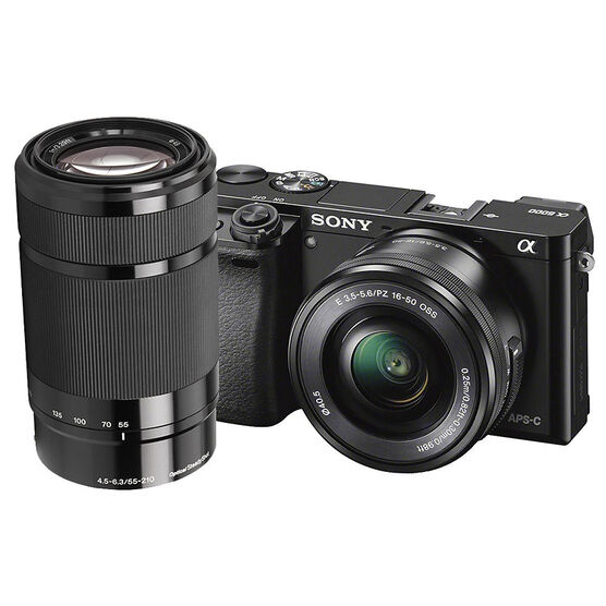 Sony A6000 with 16-50mm and 55-210mm Lens