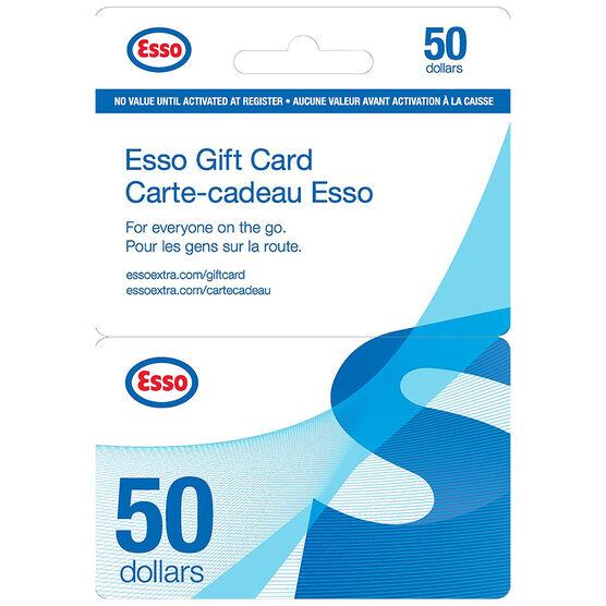 Esso Gift Card - $50