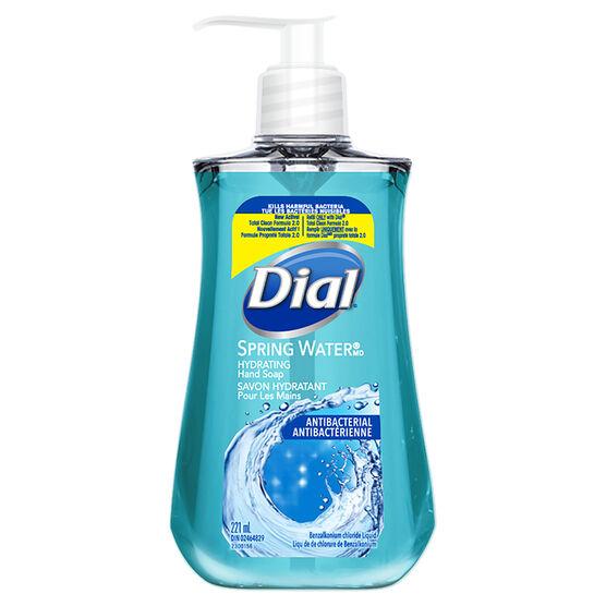 Dial Antibacterial Liquid Hand Soap - Spring Water - 221ml