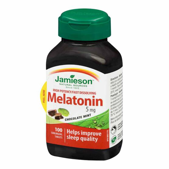 Jamieson Melatonin - 5mg - 100's