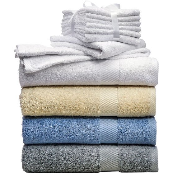 Martex Face Towel - White - 6 Pack