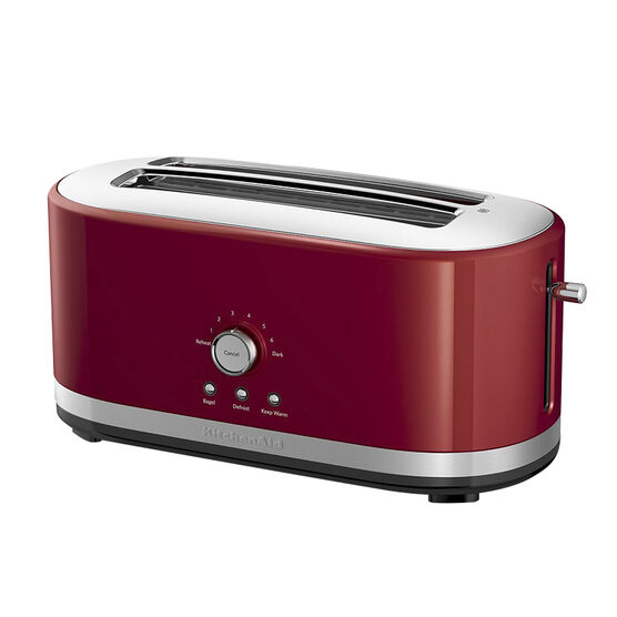 KitchenAid 4-Slice Long Slot Toaster with High Lift Lever - Empire Red - KMT4116ER
