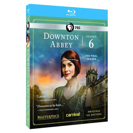 Downton Abbey: Season 6 - Blu-ray