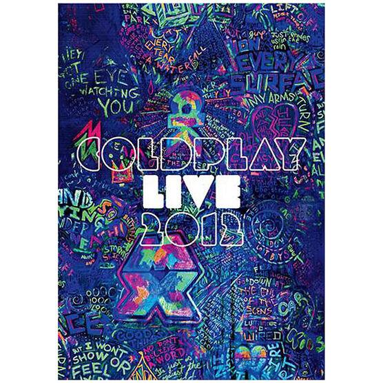 Coldplay - Live 2012 - Blu-ray Combo