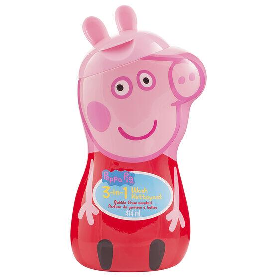 Peppa Pig 3-in-1 Wash - Bubblegum - 414ml