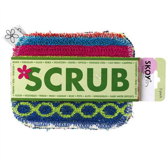 Skoy Scrub - 2 pack - Assorted