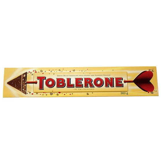 Toblerone Valentine Arrow - 360g