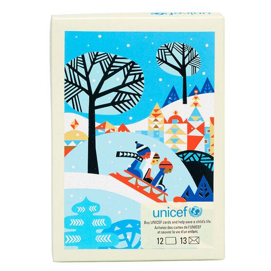 Unicef Kids Sledding