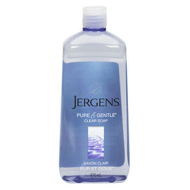 Jergens Pure & Gentle Clear Soap Refill - 875ml