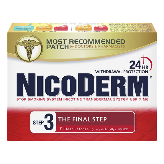 Nicoderm Clear Step 3  - 7mg - 7's