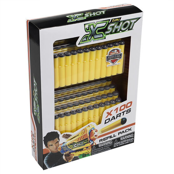 X-Shot Refill Darts - 100 pack