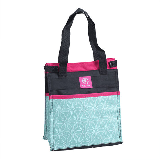 Gaiam Lunch Clutch Flowers of Life - Teal