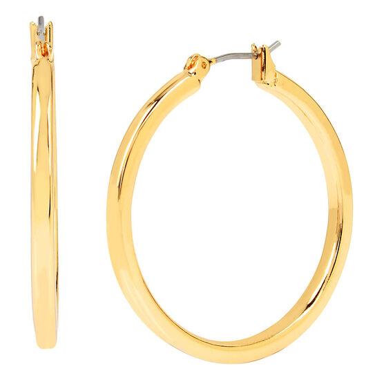 Kenneth Cole Medium Hoop Earrings - Gold