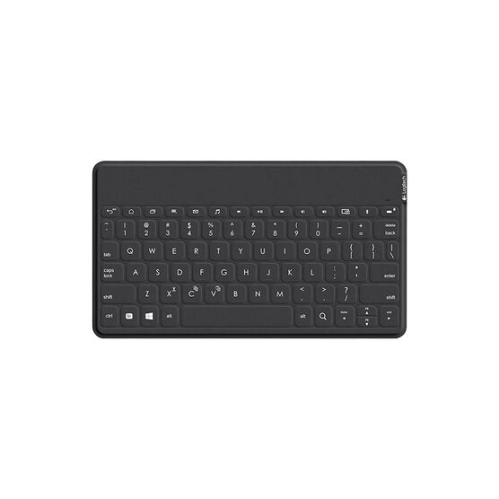 Logitech Keys To Go Ultra-Portable Keyboard for Windows & Android - Black - 920-007181