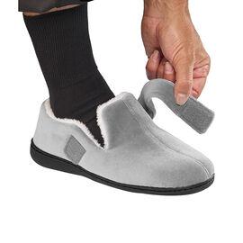 Silvert's Mens Wide  VELCRO®  Slippers