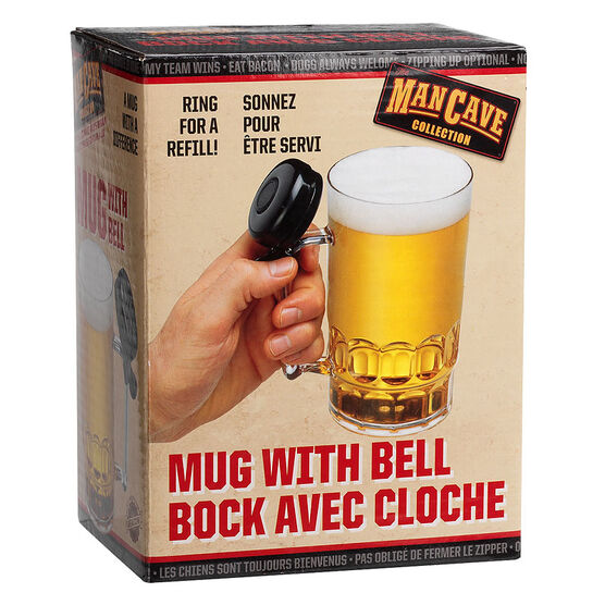 Man Cave Mug with Bell