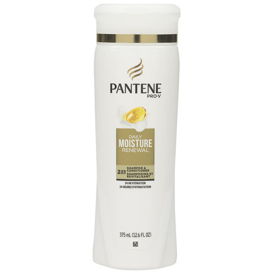 Pantene 2-in-1 Daily Moisture Renewal Shampoo & Conditioner - 375ml