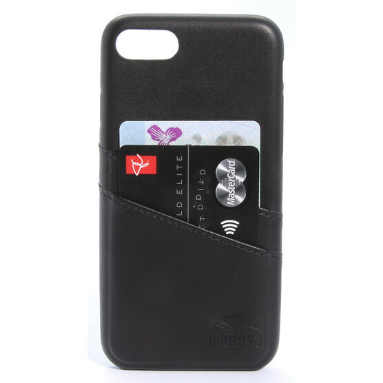 Roots Slim Wallet Case for iPhone 6/7/8 - Black - RSWIP76B