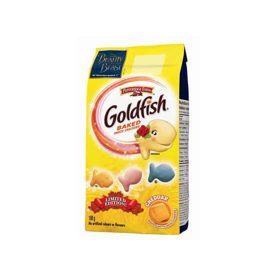 Pepperidge Farm Beauty & The Beast Goldfish - Cheddar - 180g