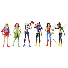 Superhero Girl 6in Doll - Assorted - DMM32