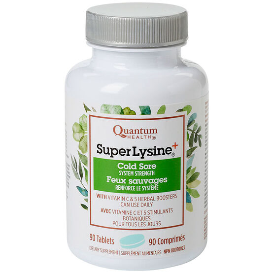 Quantum Health Super Lysine Plus Tablets - 90's