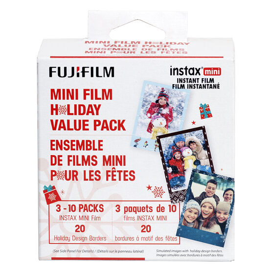 Fuji Instax Mini Holiday Film Bundle - 600017247