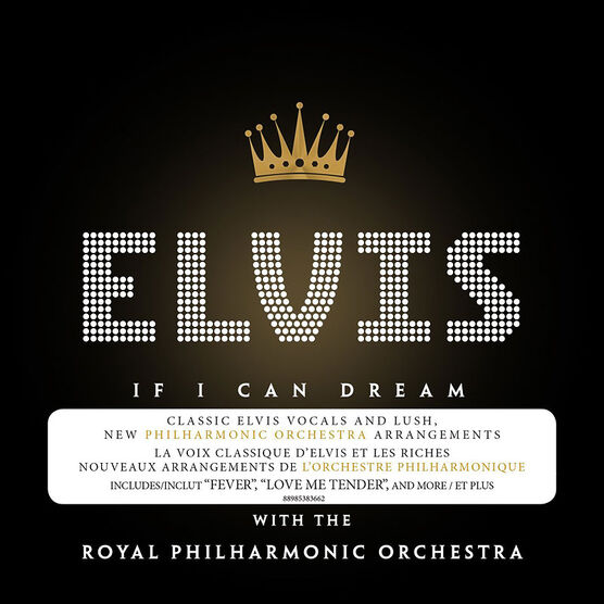 Elvis Presley with the Royal Philharmonic Orchestra - If I Can Dream - CD