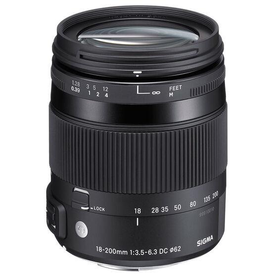 Sigma Contemporary 18-200mm F3.5-6.3 DC OS HSM Lens For Nikon - COS18200N
