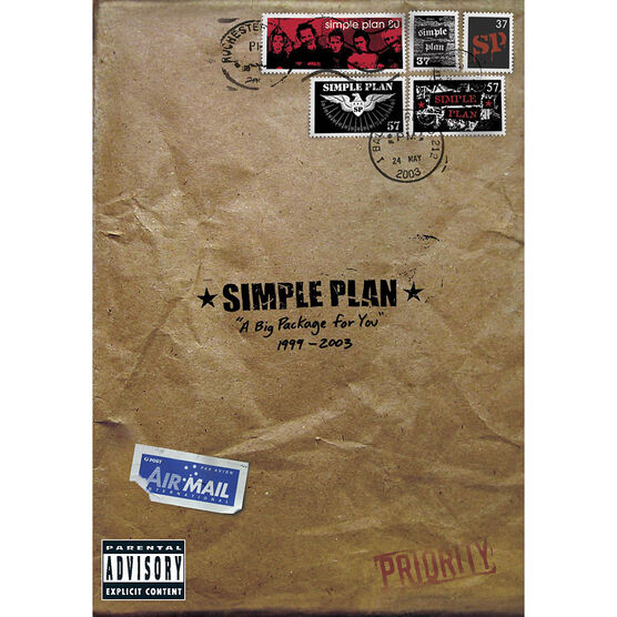 Simple Plan - A Big Package for You - DVD