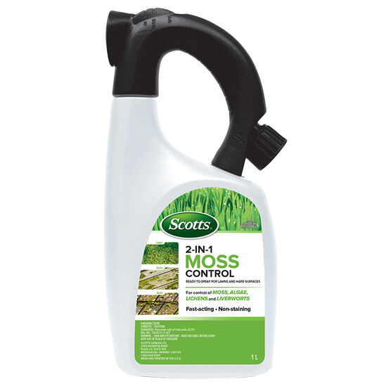 Scott's 2-in-1 Moss Control for Lawn & Hard Surfaces - 1L - SC1-31520