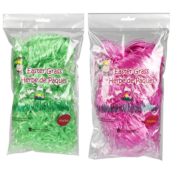 Easter Pastel Poly Grass - Assorted - 57g