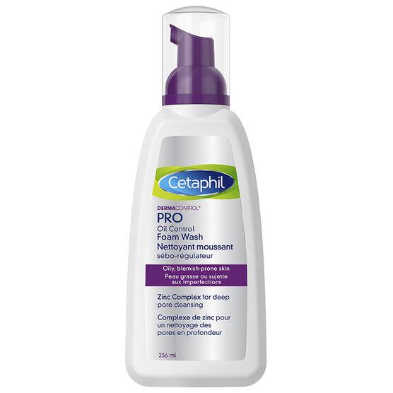 Cetaphil Dermacontrol Oil Control Foam Wash - 236ml
