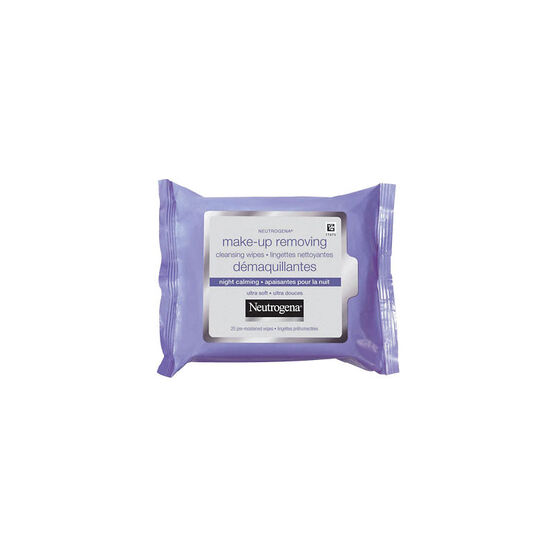 Neutrogena Make-up Removing Cleansing Cloths Night Calming - 25's